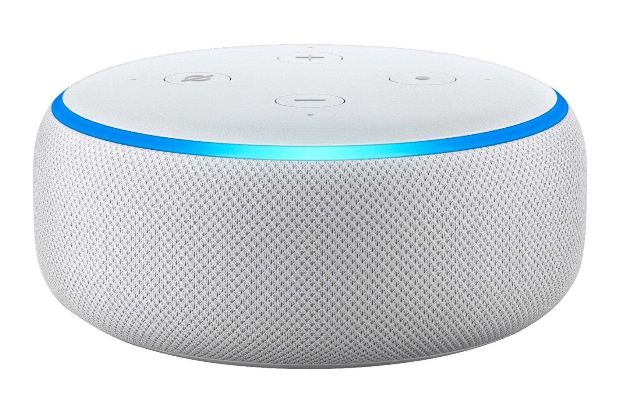 Amazon Echo Dot 3 Gen Smart Speaker with Alexa Sandstone