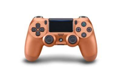 Controller Gamepad Playstation 4 PS4 v2 Metallic Copper