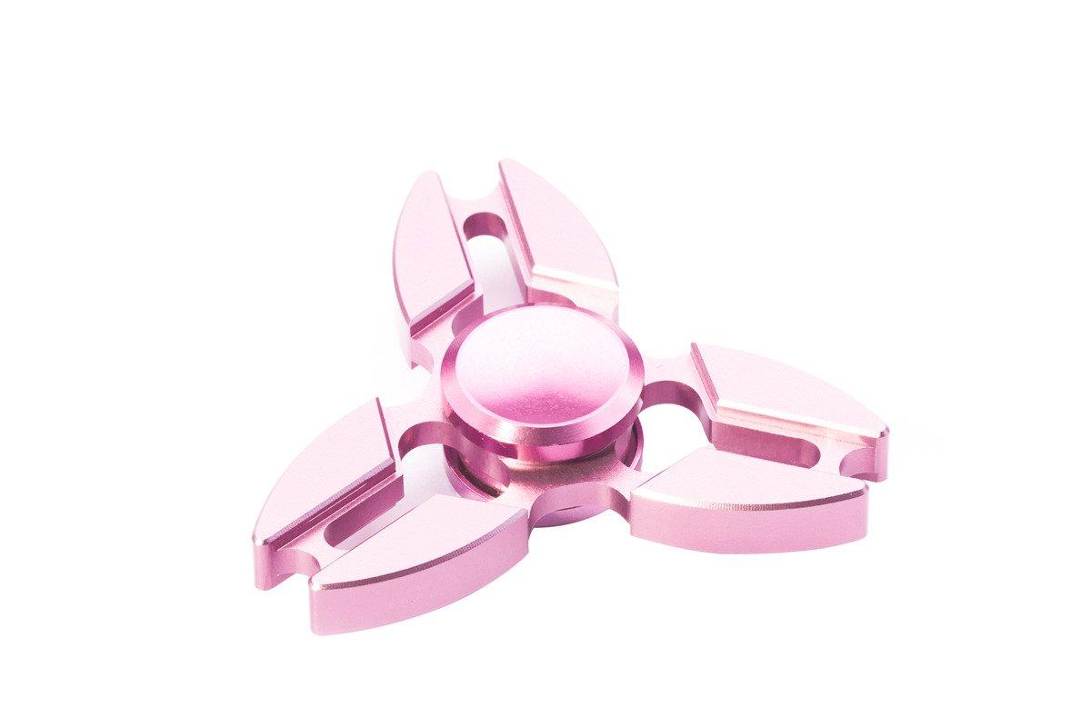Fidget Spinner metalowy róźowy
