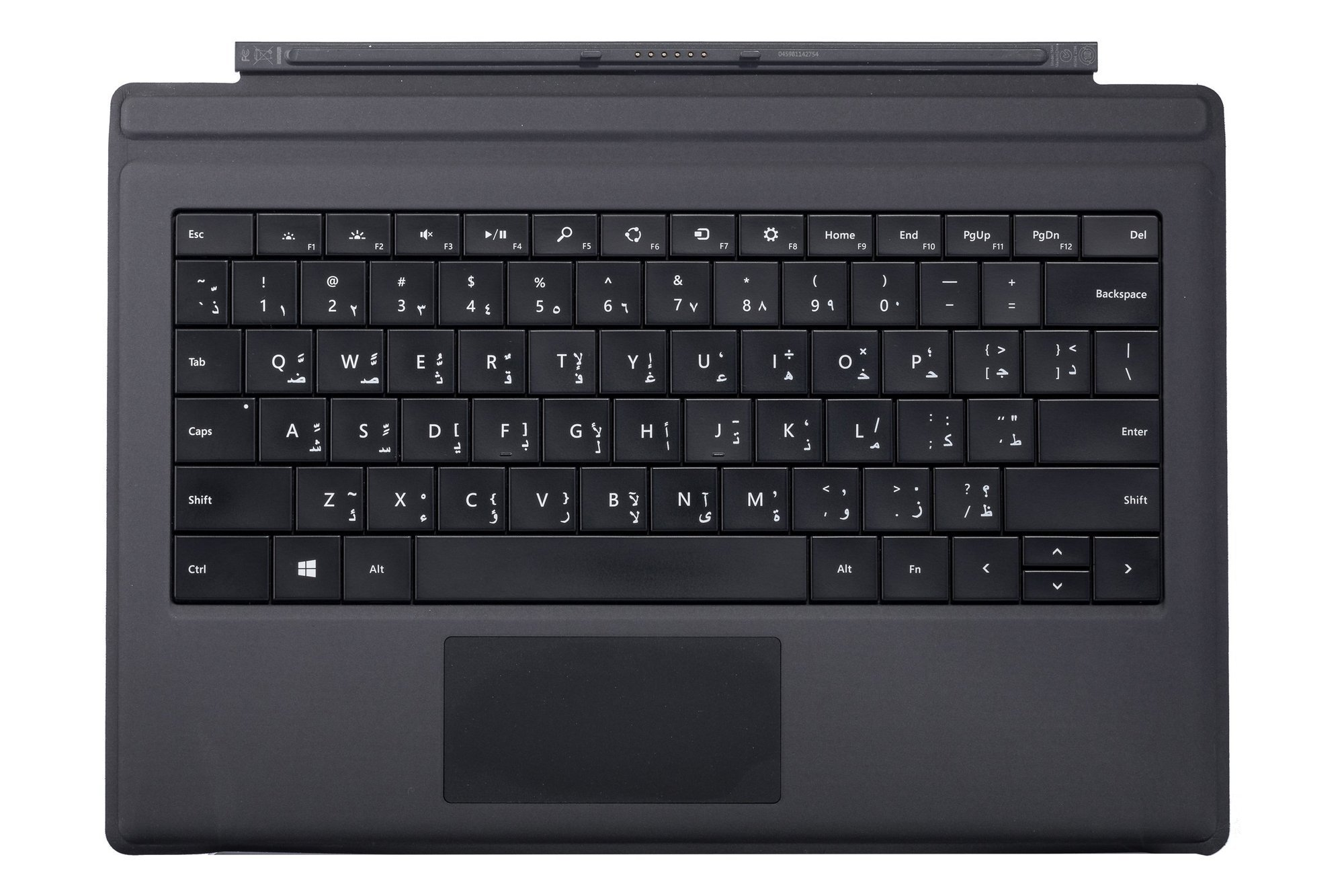 Keyboard Microsoft Surface Type Cover 3 Black QWERTY (Arabic) Grade B