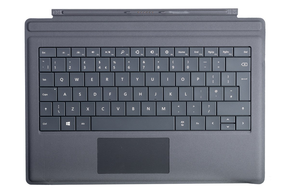 Keyboard Surface Type Cover Pro 3 Black Grade A (British)