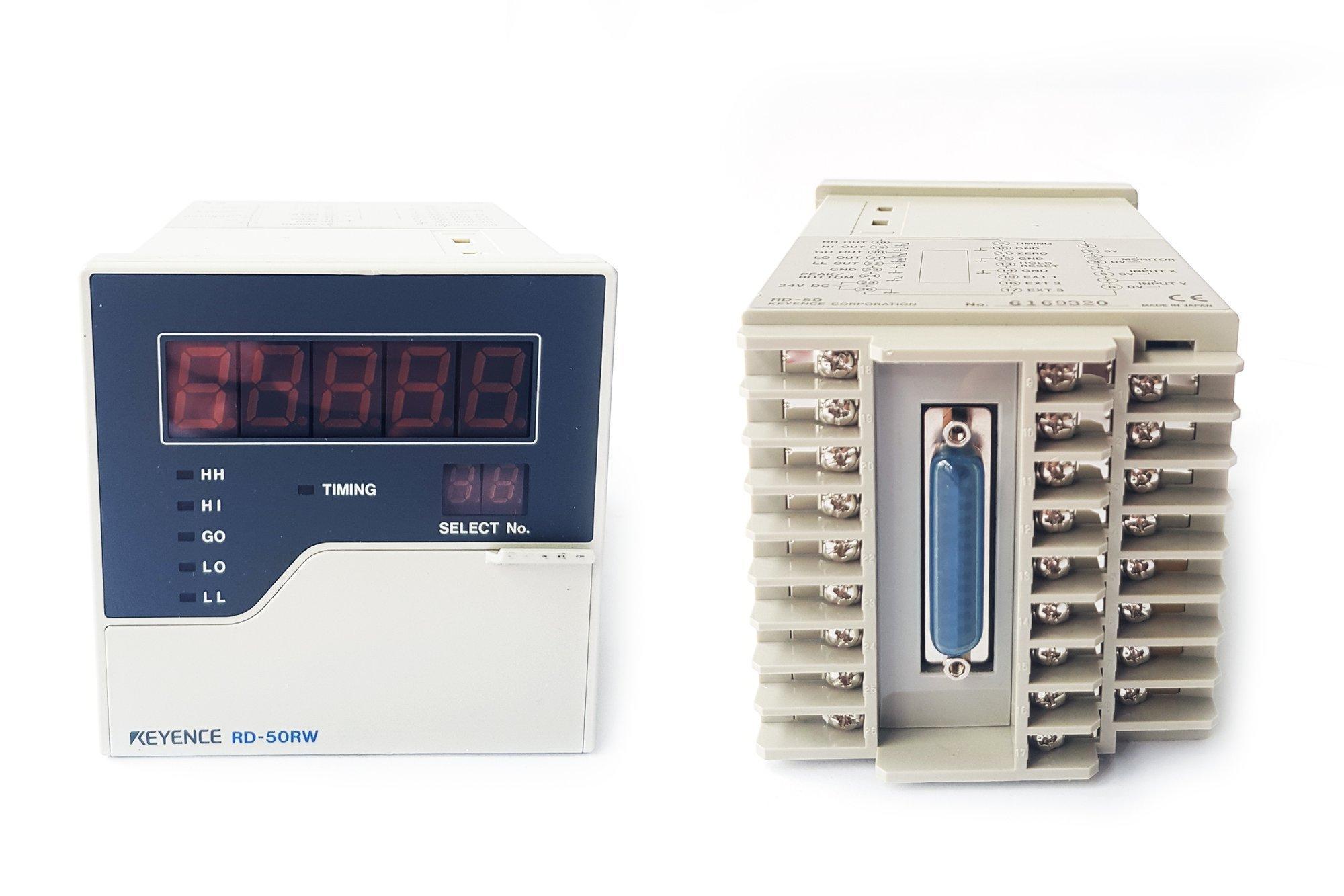 Keyence Analogue Sensor Controller Main Unit, RS-232C Type - RD-50RW