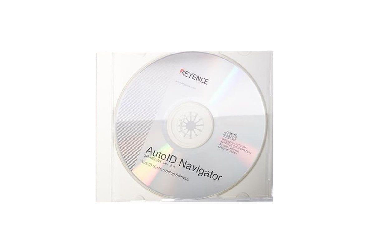 Keyence Setting Software AutoID Navigator Ver. 4.4 SR-H60WE