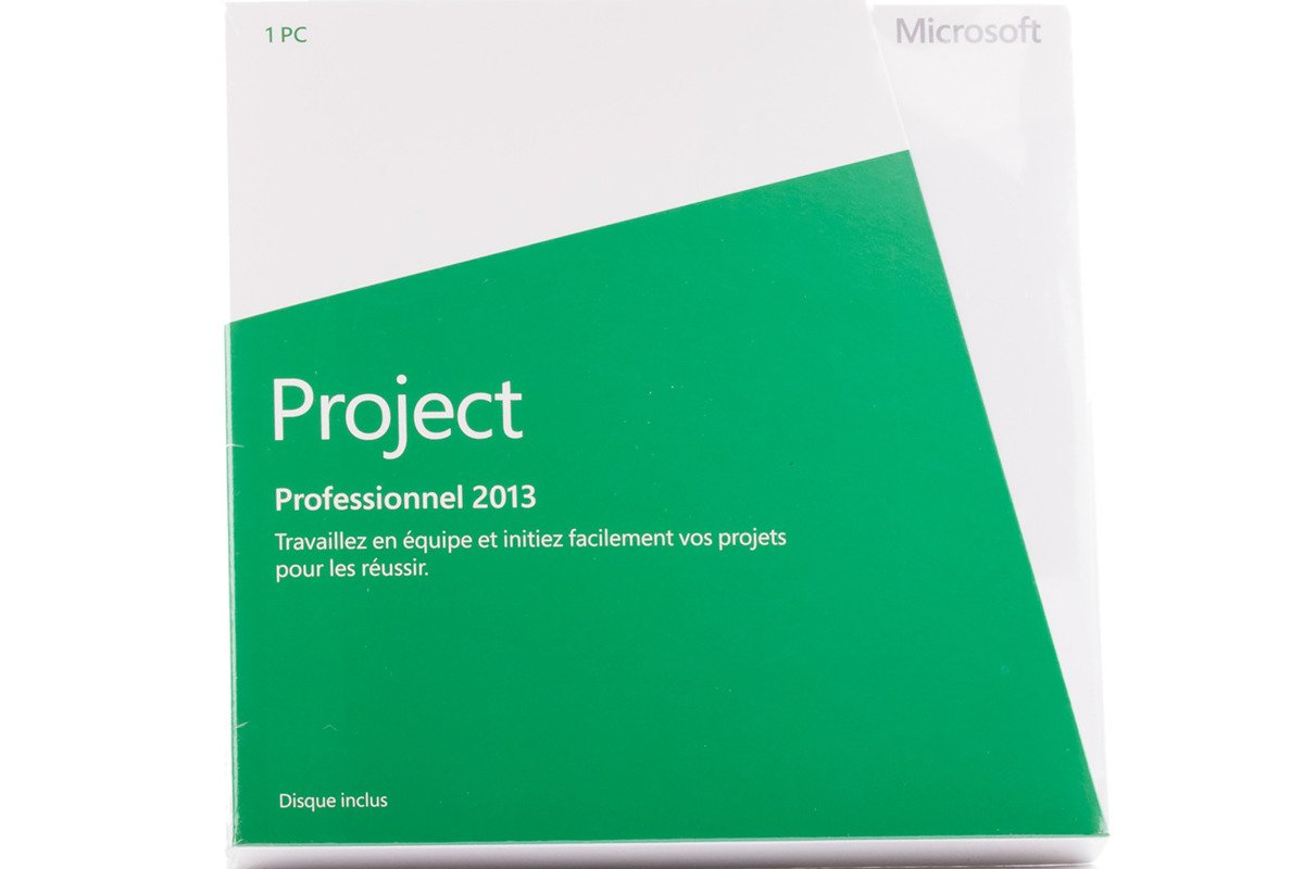 New Microsoft Project Professional 2013 H30-03684 Africa/Caribbean Only DVD BOX