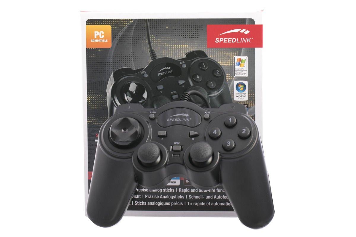 New Speedlink Thunderstrike Gamepad Controller PC