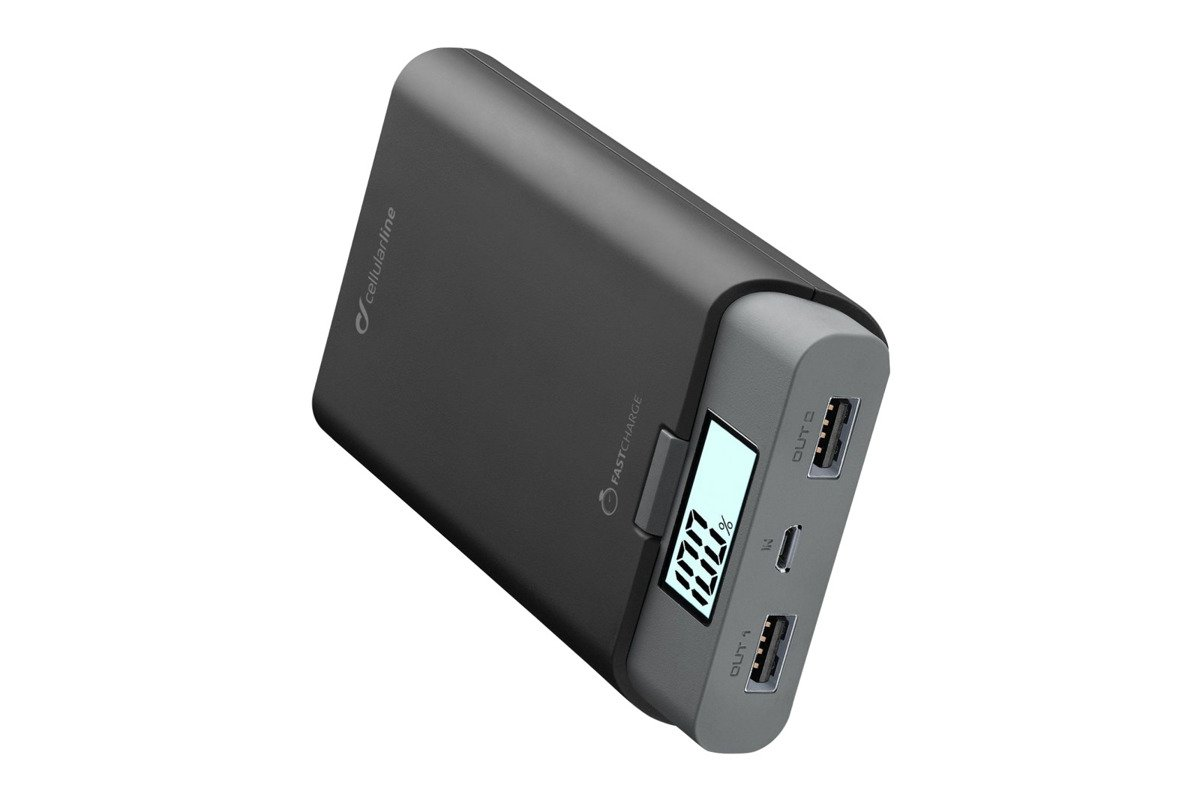 Powerbank Cellular line FreePower 10000 Black
