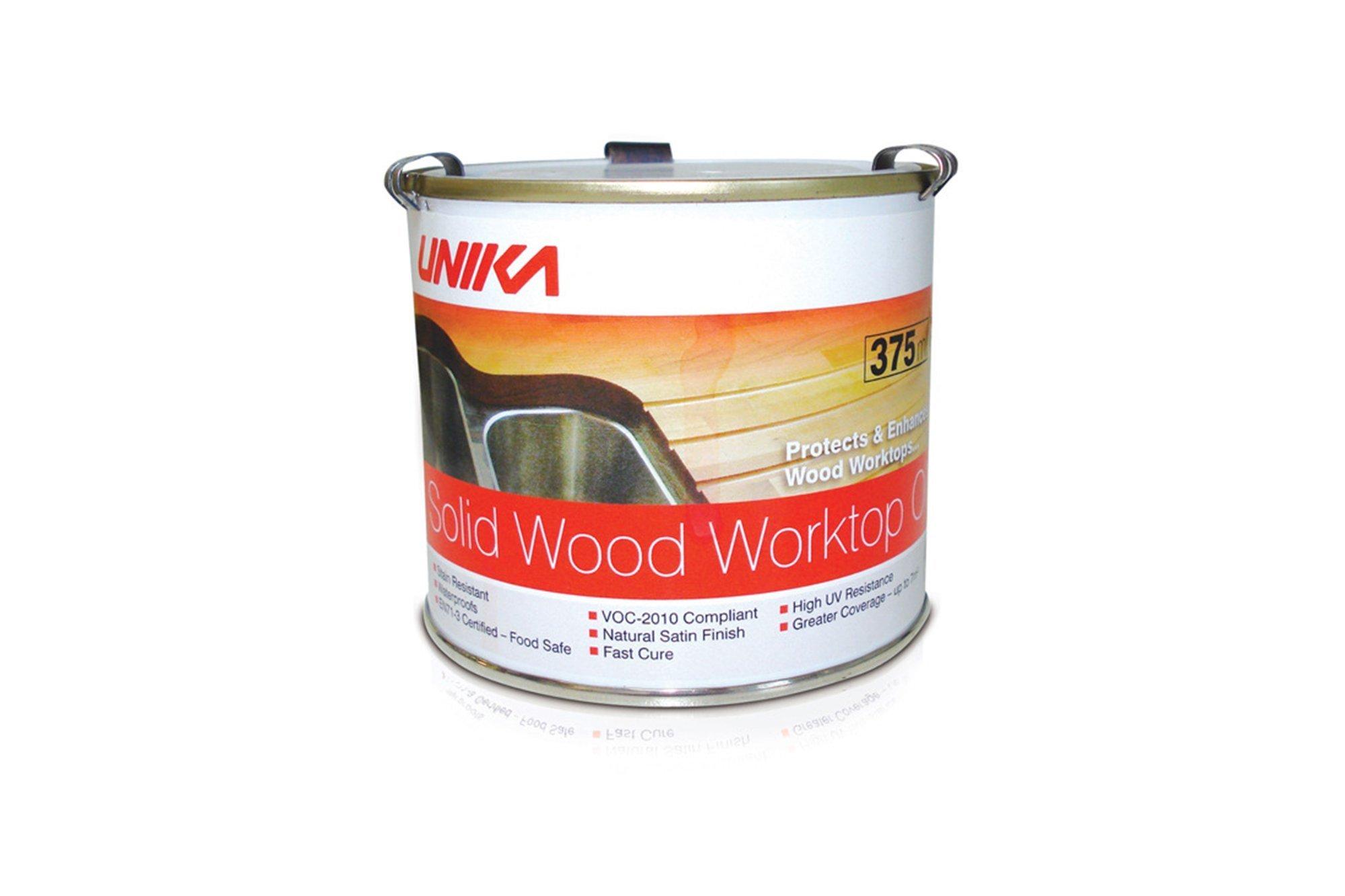 UNIKA Solid Wood Worktop RAPID Oil