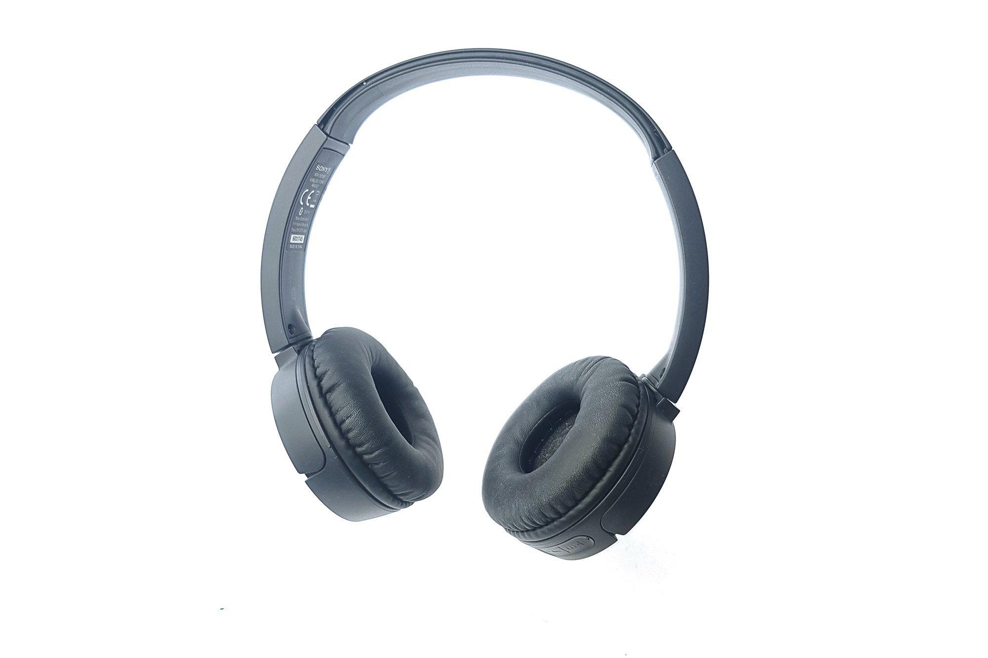 Wireless Headphones Sony MDR-ZX220BT Black