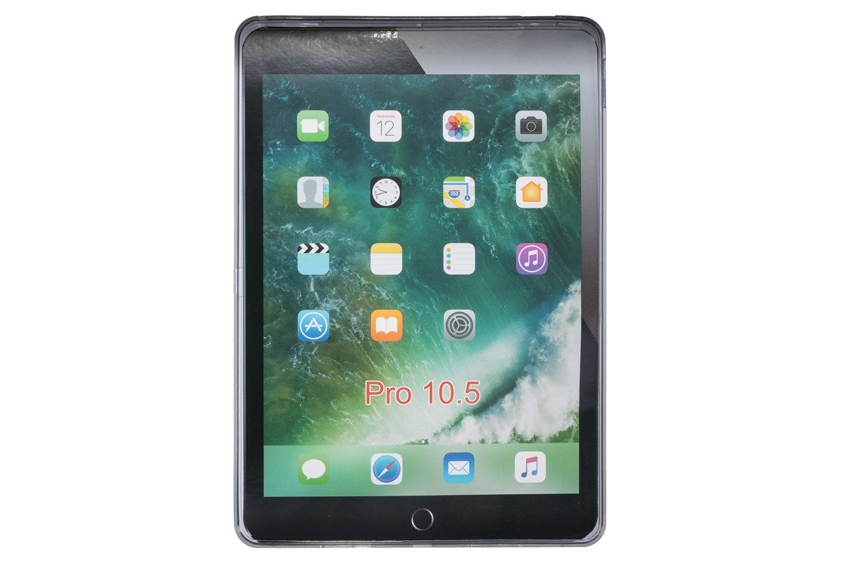 iPad Pro 10.5 Transparent Silicone Case Cover
