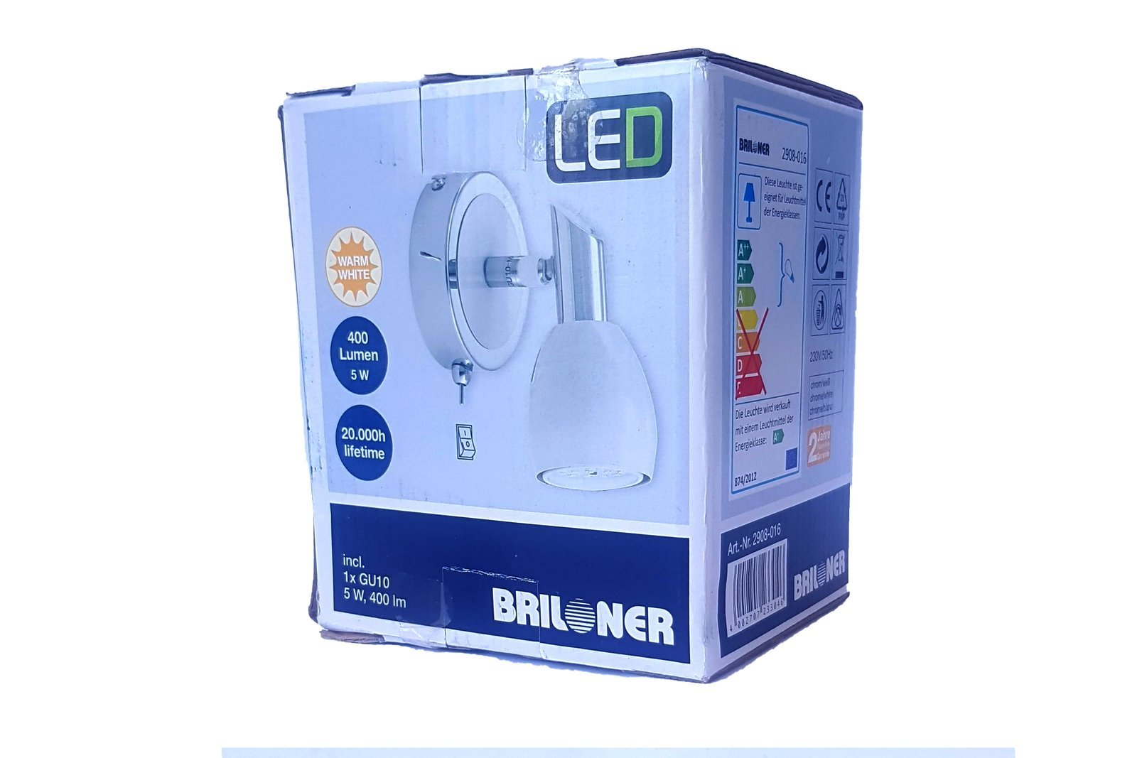 Briloner Spotlight 2908-016 1x GU10 5W LED