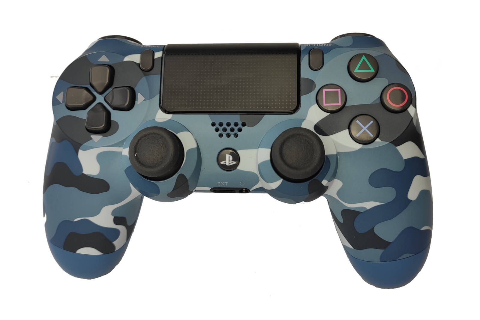 Controller Gamepad Playstation 4 PS4 v2 Blue Camouflage