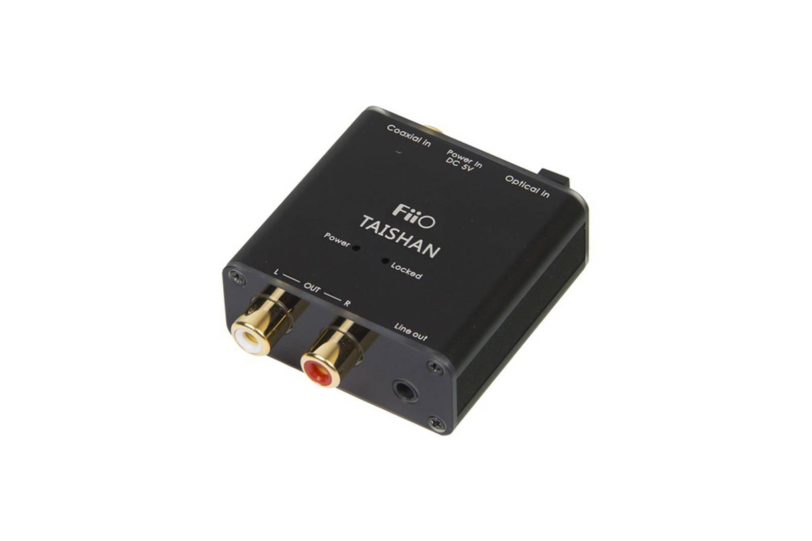 FiiO Taishan Coaxial/Optical to R/L Audio Converter DAC SPDIF D03K D03