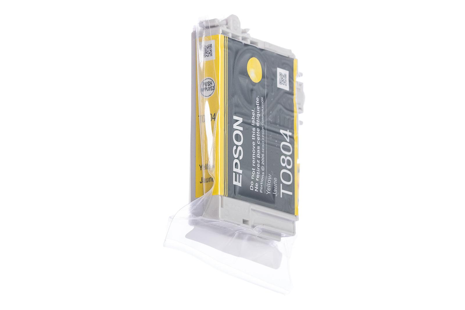 Genuine Ink Cartridge Epson T0804 C13T080440 Yellow