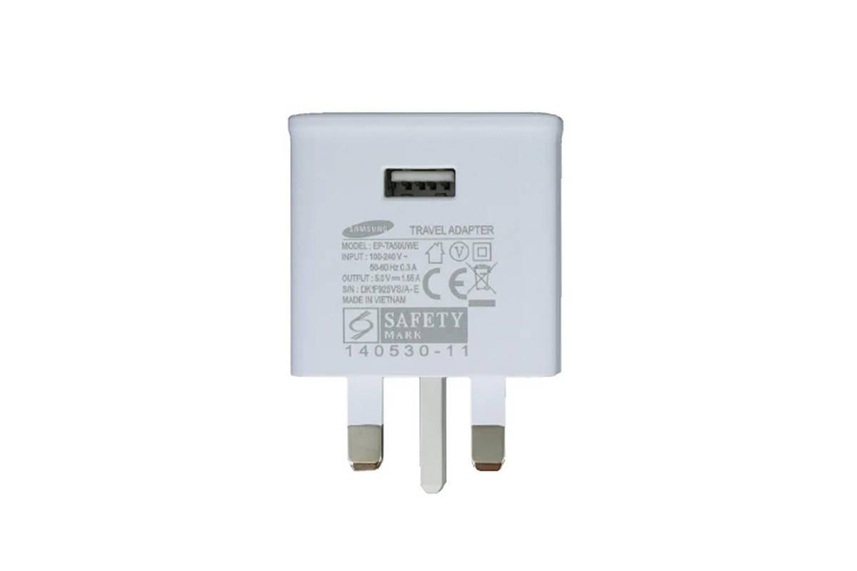 Genuine charger Samsung EP-TA50UWE 5V 1.55A