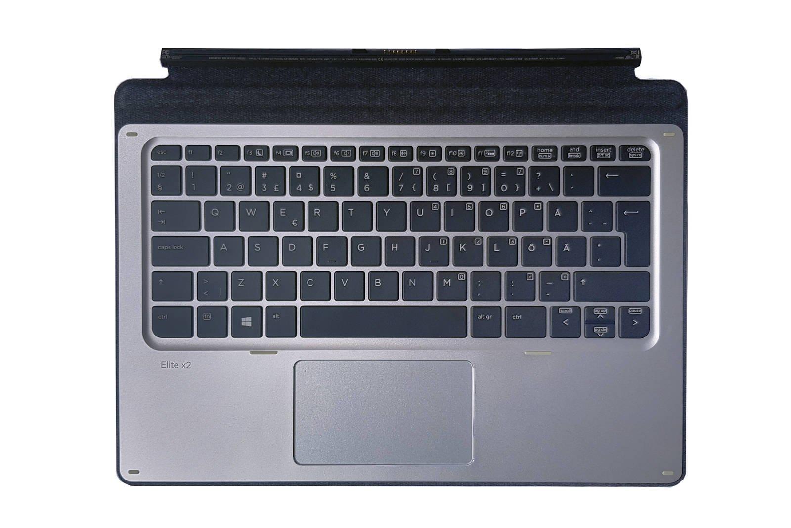 HP Elite x2 1012 G1 Travel Keyboard HSTNN-D72K Slovenian