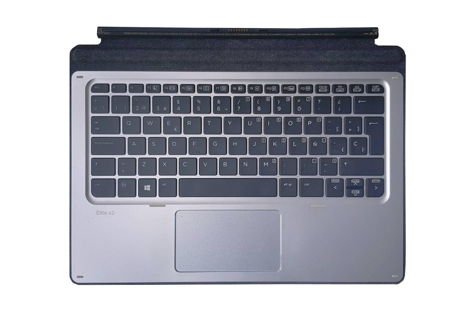 HP Elite x2 1012 G1 Travel Keyboard HSTNN-D72K Spain