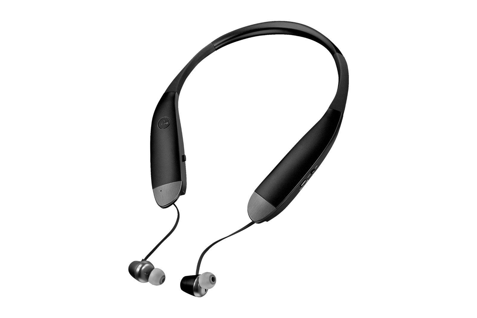 Insignia Wireless Noise Cancelling In-Ear Headphones Black