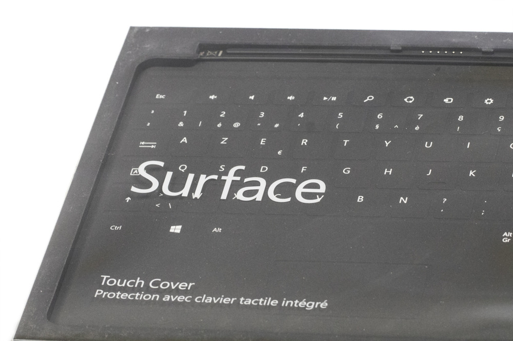 Keyboard Microsoft Surface Touch Cover 1 Black (Belgian) AZERTY