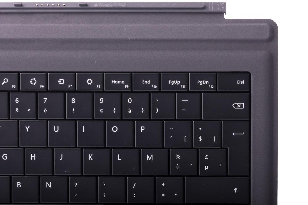Keyboard Microsoft Surface Type Cover Pro 3 Black AZERTY (French) Grade B