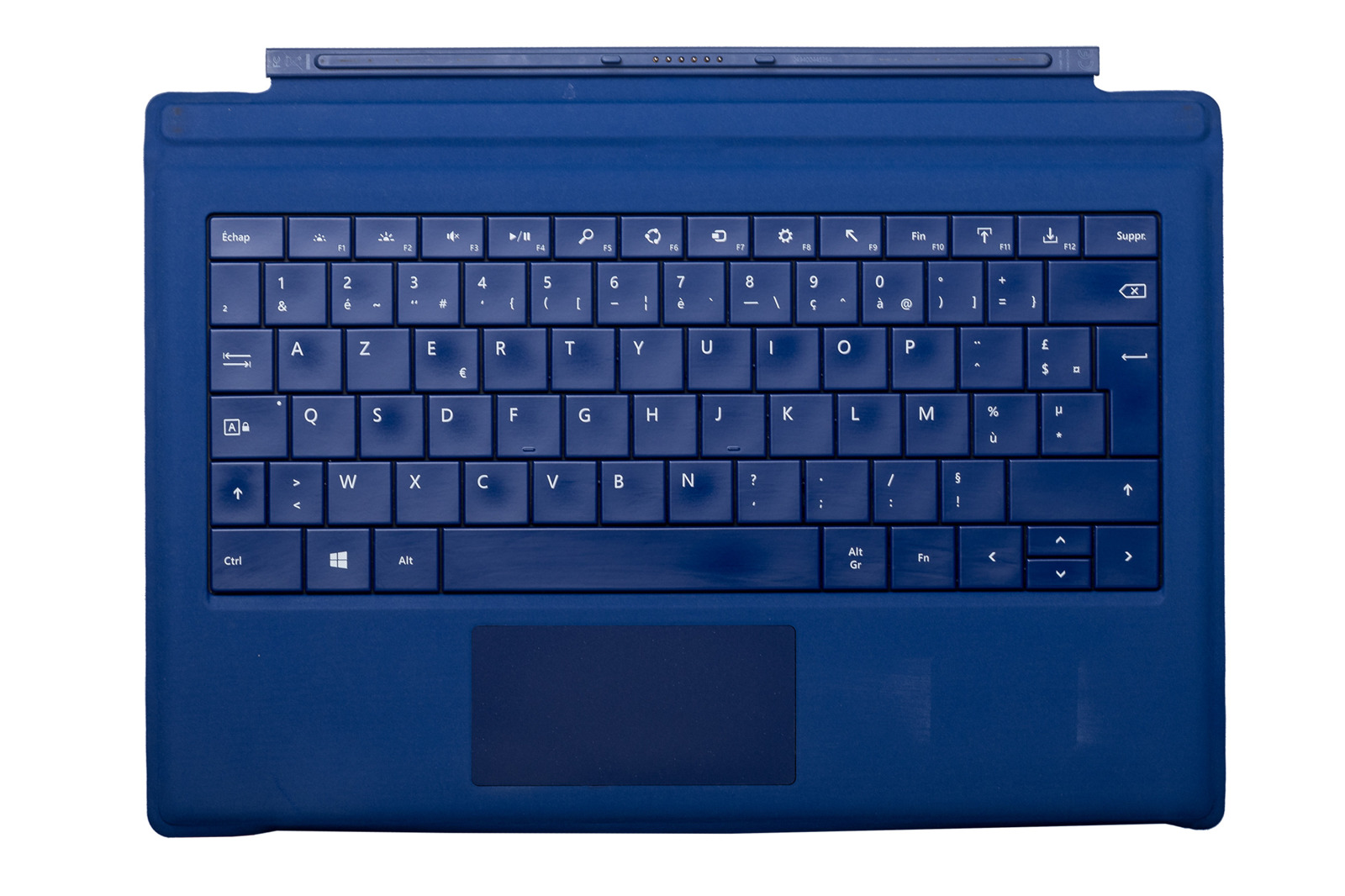 Keyboard Microsoft Surface Type Cover Pro 3 Dark blue AZERTY (French) Grade C