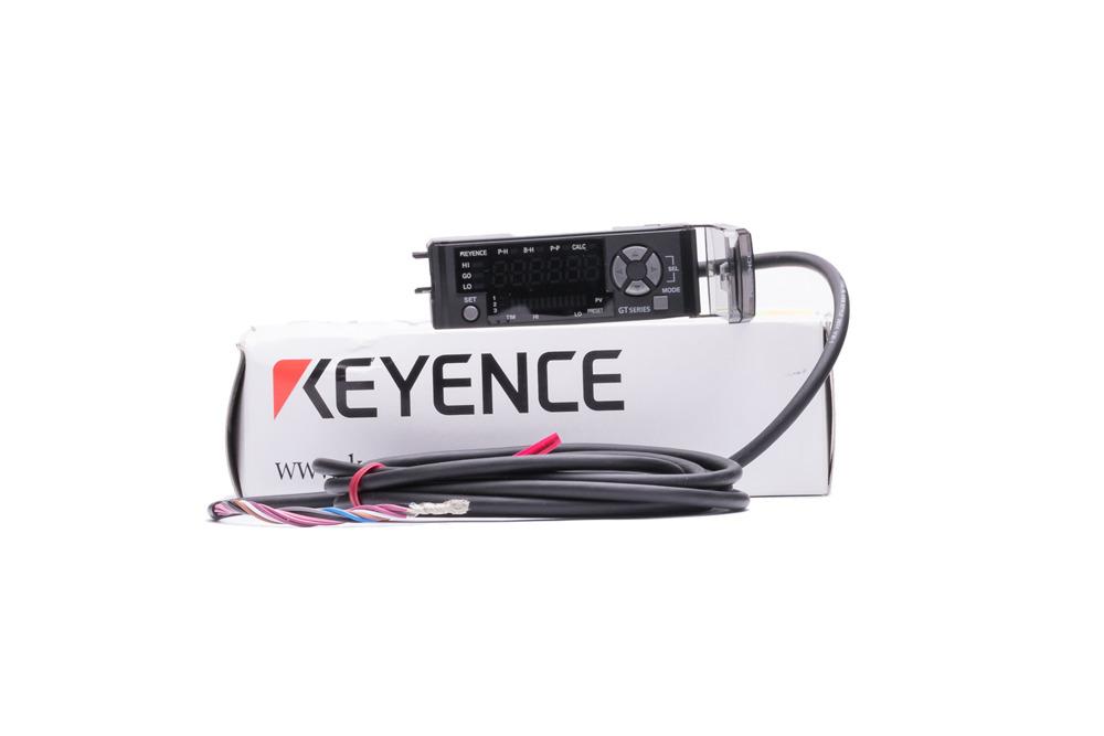Keyence Digital Sensor Amplifier Unit GT-71AP PNP DIN Rail Type