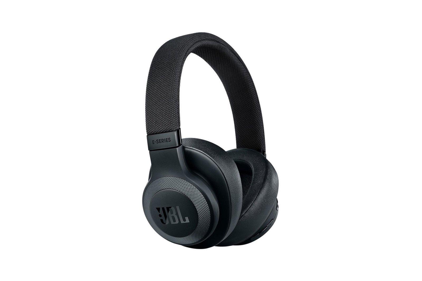 NEW JBL E65BTNC Headphones Wireless Bluetooth Over-Ear Black Headset