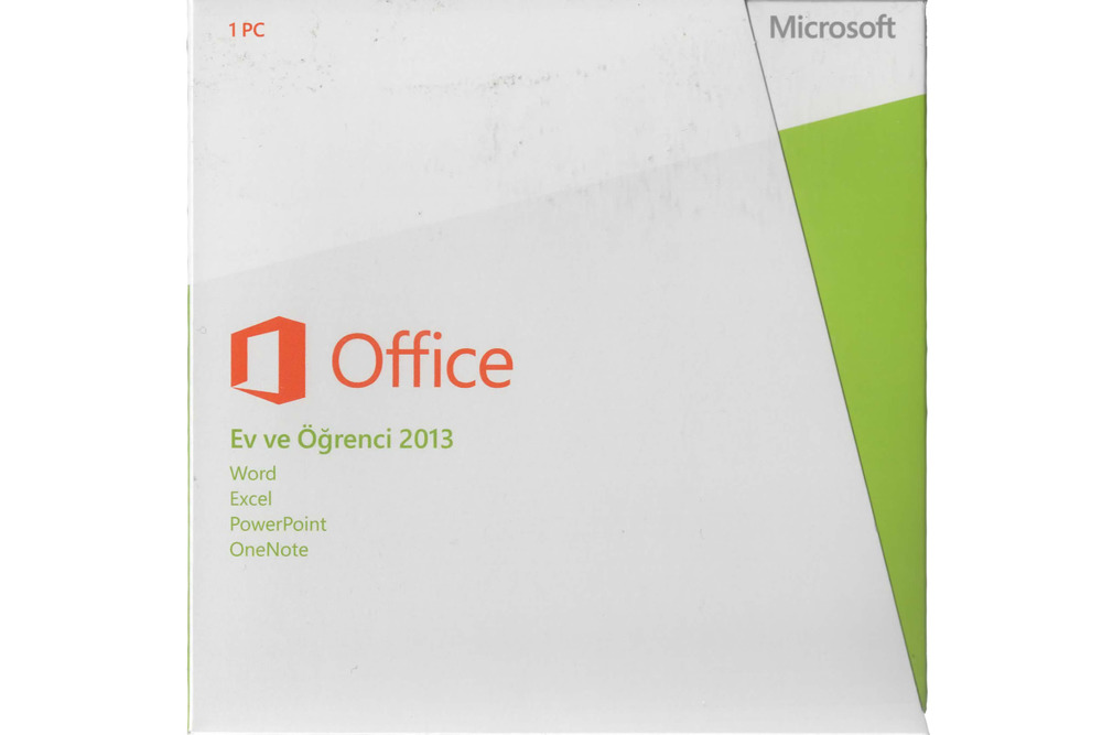 New Microsoft Office Home And Student 2013 79G-03759 Turkish Middle East Em DVD