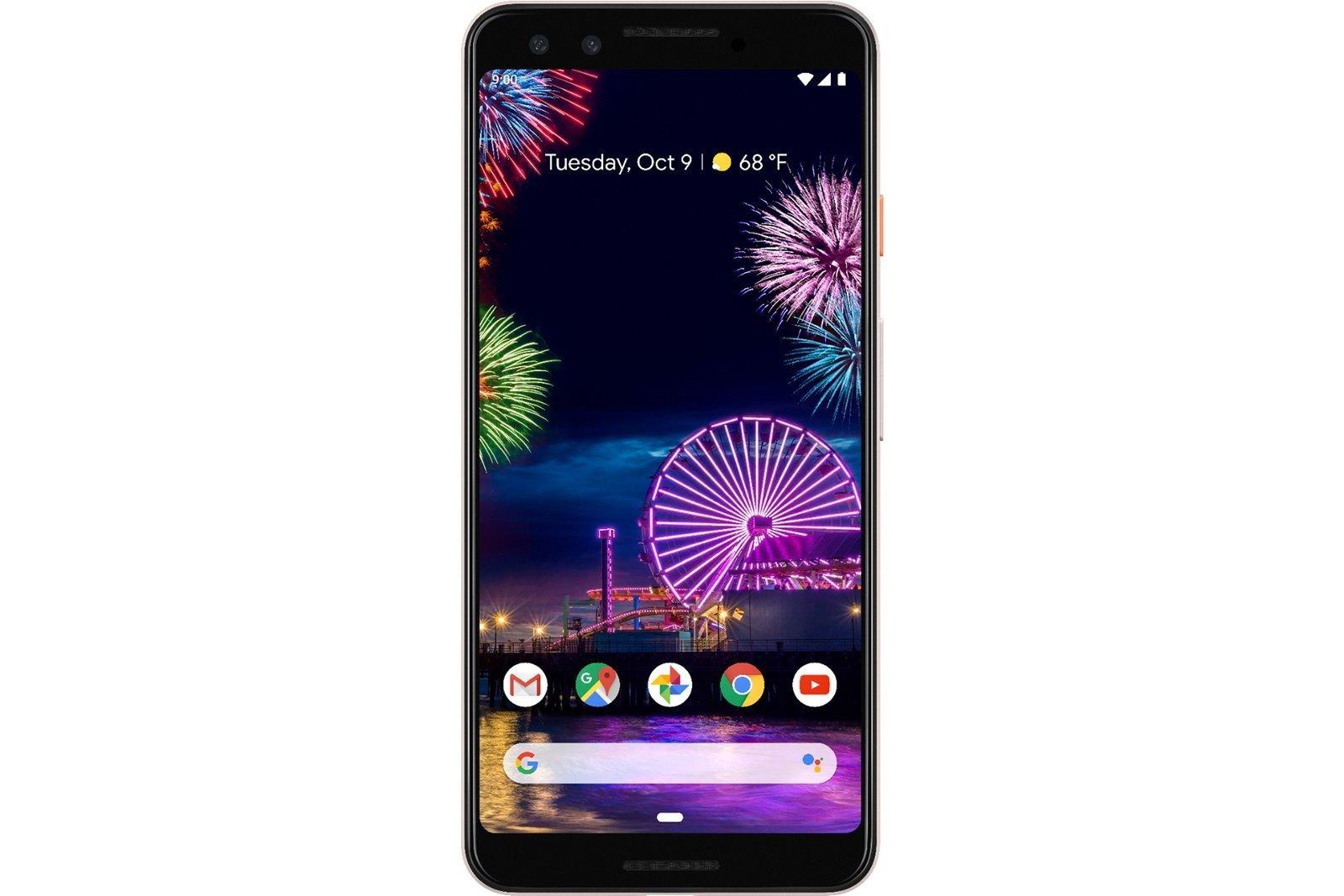 New Smartphone Google Pixel 3 64GB 4GB Not Pink GA00465-US