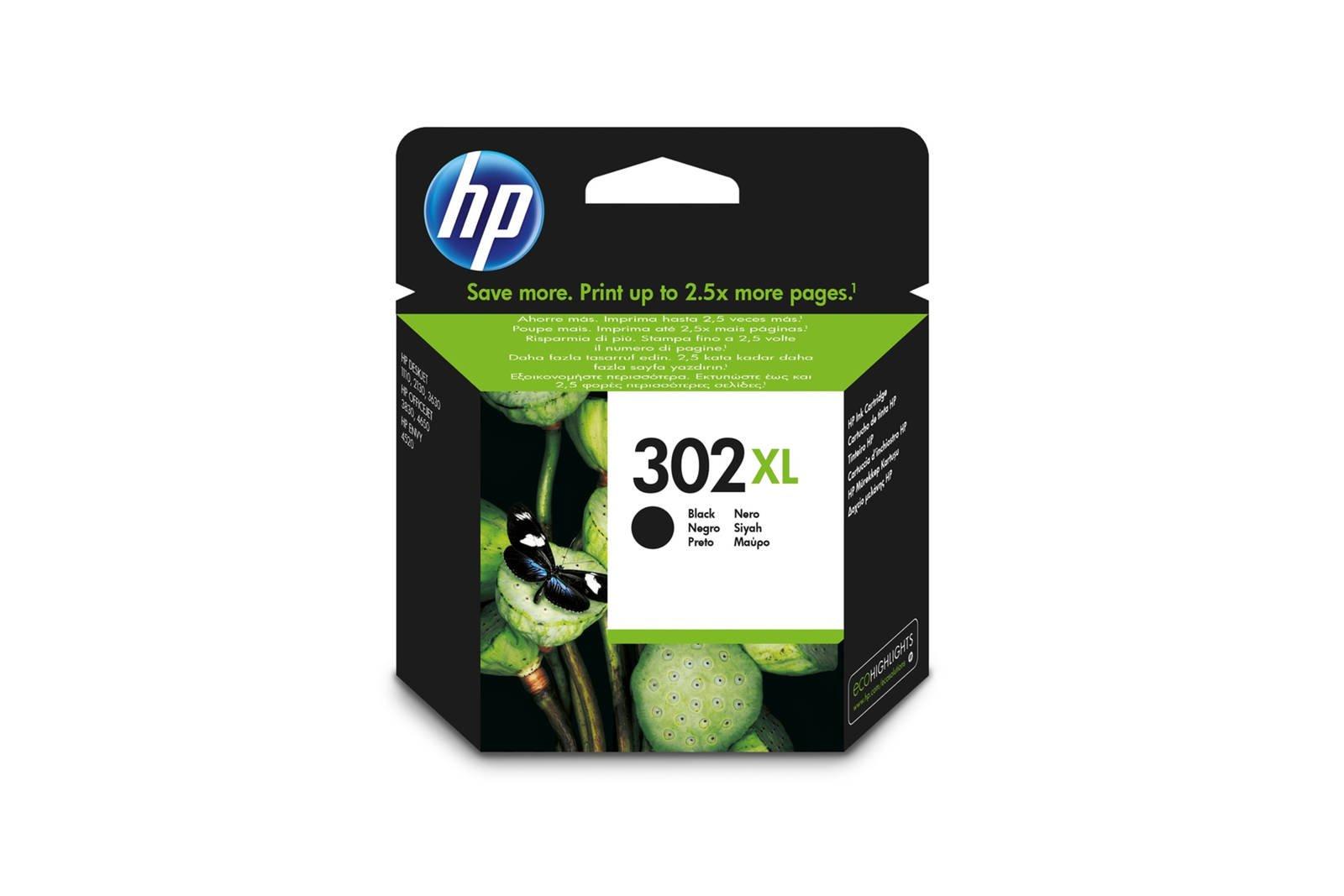 Original ink cartridges HP 302 XL F6U68AE 302XL Black