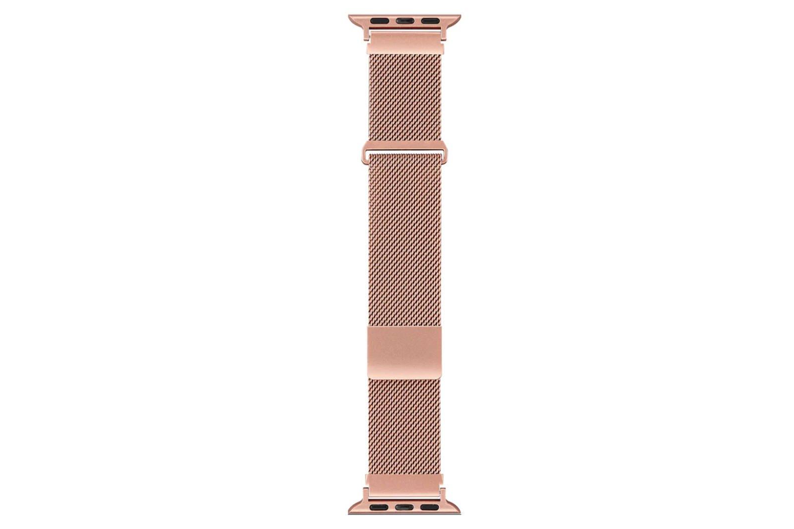 Sandstrøm Mesh strap for Apple Watch 38/40mm Rose Gold