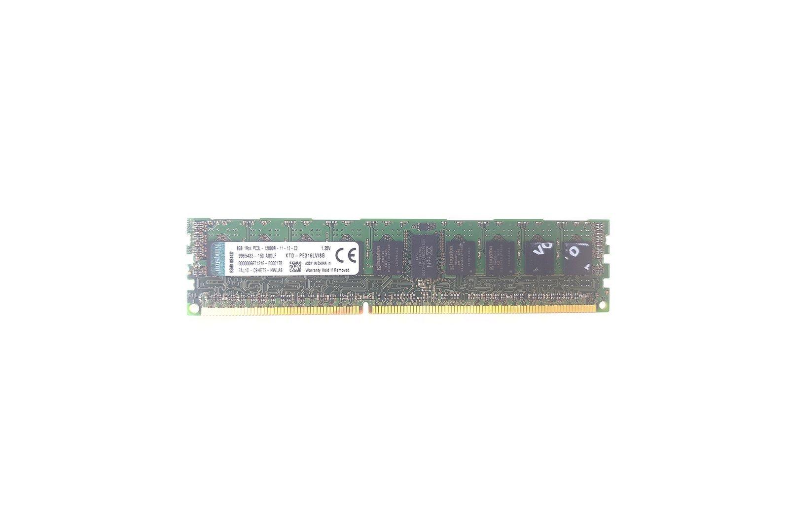 Server memory RAM REG ECC Kingston 8GB DDR3 1600 MHz KTD-PE316LV/8G