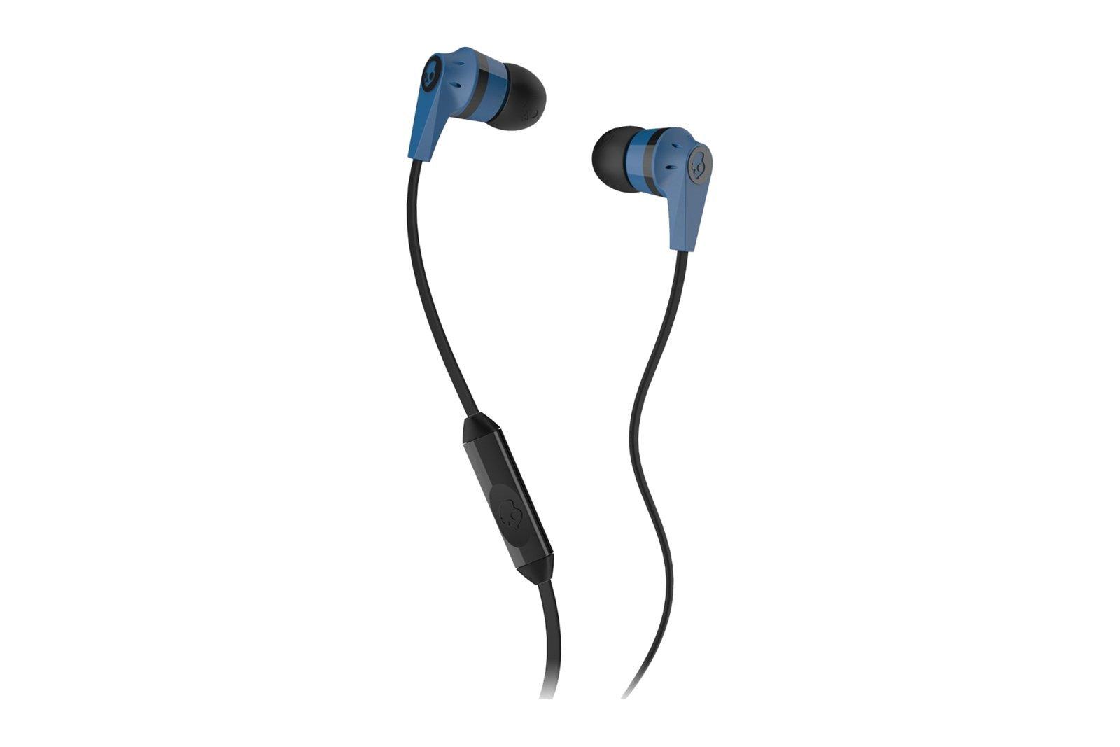 Skullcandy Ink'd 2 Wired Earbud Headphones Blue/Black