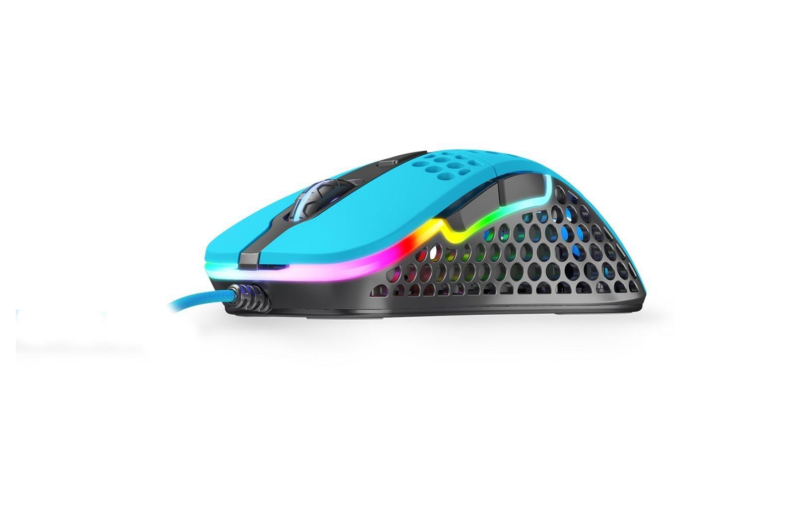Ultra-Light Gaming Mouse Xtrfy M4 RGB Miami Blue 400-16kDPI